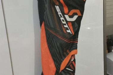 Scott Motocross Kinderhose, Shirt und Netzprotector