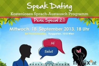 """Seid ihr bereit für unser Speak Dating """"Picnic Special 2.0""""!"""