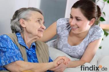Selbstständige Krankenschwester in der Altenpflege