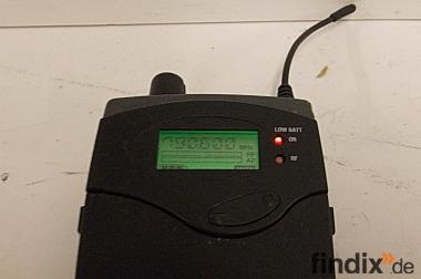 Sennheiser EW 300 IEM G2 In Ear Monitoring Empfänger, Bodypack
