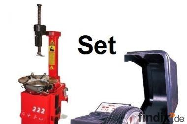 Set Reifenmontiermaschine 24 Zoll & Auswuchtmaschine 24 Zoll