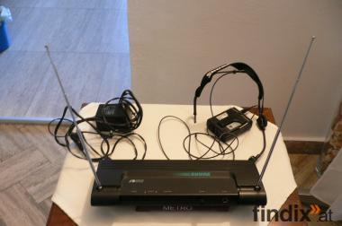 Shure T11 Funkmikro - Sender und Empfänger