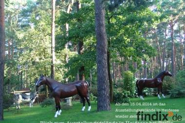 Sie suchen ein Deko Pferd lebensgross ...