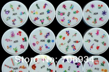 Silikon Nail Art Stamping Schablone Nr. 1-25 um 4,90€