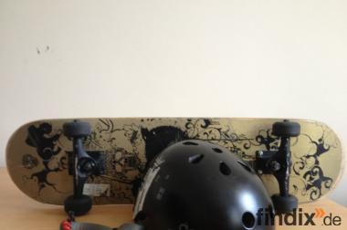 Skateboard + Helm
