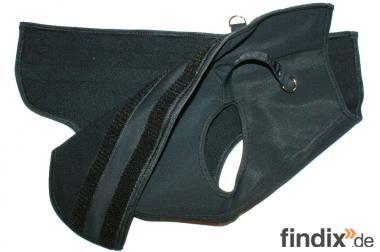 Softshellmantel für Hunde, XXXS-L, schwarz und warm