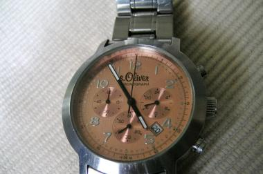 S.Oliver Herrenchronograph
