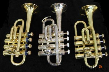 Sonderabverkauf 3 x Amati Piccolo Trompete ATR 382, 383S, Senator