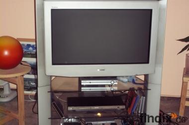 Sony Farbfernsehgerät 16:9 mit original Unterschrank