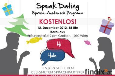 Speak Dating Sprach-Austausch Programm X-MAS Special