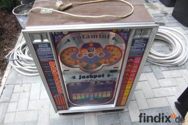 "Spielautomaten""rotamint"" und ""MEGA VIVA"""