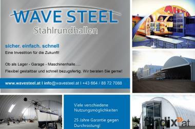 Stahlhalle/ Hallensystem/ Stahlrundhalle als Garage
