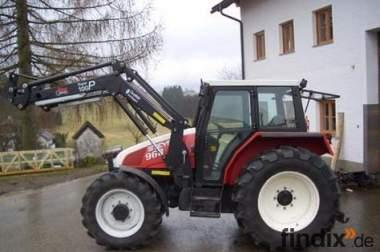 Steyr 968 mit Frontlader