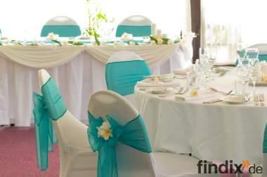 Stuhlhusse, Dekoration, Brautkleid, Taufe, Firmenevent, Hochzeit,