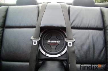 Subwoofer System für BMW e36 Cabrio und BMW e60