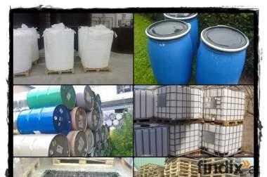 Suche Big Bags, Fässer, IBC-Behälter, Paletten