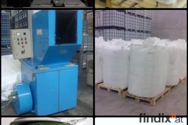 Suchen IBC-Behälter, Paletten, Fässer, Big Bags und was sie sonst
