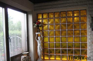 Super Angebot!!! Glasbausteine neu färbig 20x20cm. € 0.90.- pro