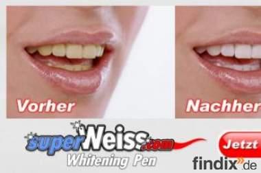 Super weiße Zähne für Alle!