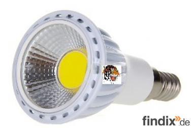 Superheller E14 - COB - Strahler - 480 Lumen - 90 Grad