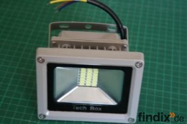 Superkleiner LED-Fluter 230 V - 20 Watt - weiß
