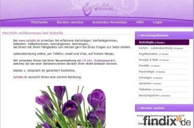 SYBELLA . d e  Gratisgespräch Kartenlegen online gratis