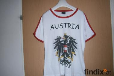 T-shirt mit Österreich Wappen