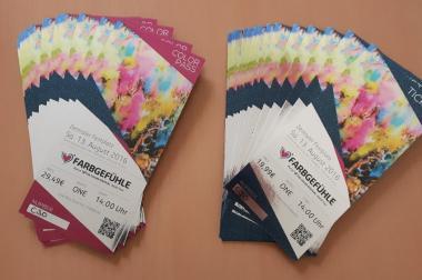 Tickets - Farbgefühle Festival Berlin 2016