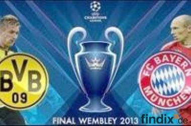 Tickets UEFA Champions League Finale 25.05.2013 - London - Wemble