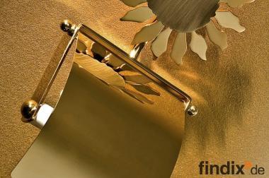 Toilettenpapierhalter Goldfarben