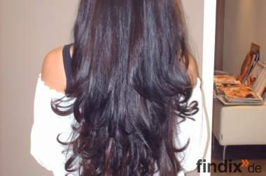 Top Angebot Komplette Haarverlängerung mit Indischen Echthaar 199
