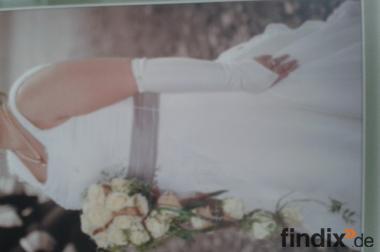 Top Brautkleid Größe 44/46 Champangner