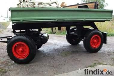 Traktoranhänger luftgebremst HK;NL:5t