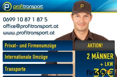 Transport Wien | Möbeltransport - Schwertransport uvm.