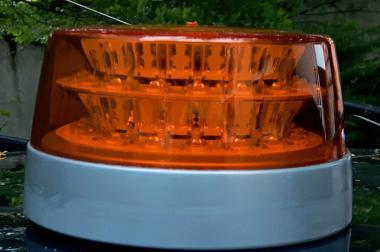 Trecker: LED Rkl , w&s ComP LED, DOUBLE, GELB,  ECE,  Festm