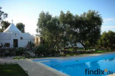 Trullo Ferienwohnung mit Pool, 2km zum Meer, Ostuni, Apulien