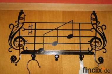 Türgarderobe Noten - Style / Musik Garderobe Tür