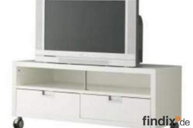 tv bank mit rollen wei ikea best j gra 184016. Black Bedroom Furniture Sets. Home Design Ideas