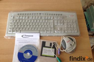 Typhoon Multimedia Keyboard/Tastatur + Maus