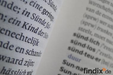 Übersetzungsbüro NedDuits: Niederländisch, Englisch, Deutsch.