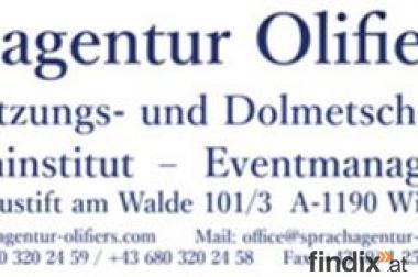 Übersetzungsbüro Sprachagentur Olifiers e.U.