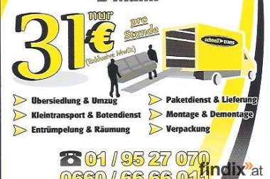 Umzug Siedeln Aktion 2Mann+LKW 28€/h 0660 66 66 011
