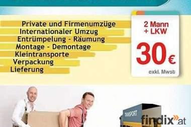 Umzug - Übersiedlung - Entrümpelung firma wien
