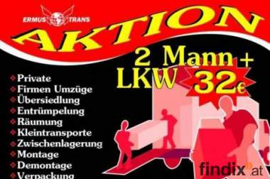 Umzug war nie so easy 3 Männer + LKW 49€/ph 069919181966
