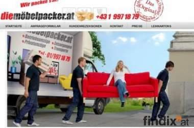 Umzug Wien - Die Möbelpacker Transport & Logistik GmbH