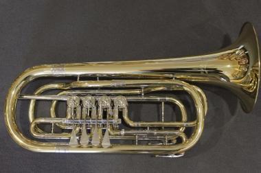 V. F. Cerveny Basstrompete in Bb, 4 Ventile Mod. CTR 592-4, Neu