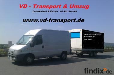 VD Umzugservice & Blitz Transport  24 h Service