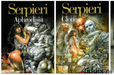 Verkauf 6 Comics (unzensiert) in ital. Sprache!
