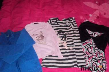 Verkaufe 3 Shirts und eine Jacke