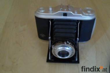 Verkaufe 60 Jahre Fotoapparat Agfa Isolette I Vario